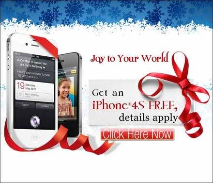 Free iPhone 4S Offer