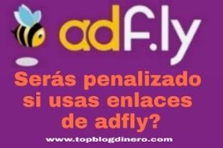 Puedo publicar enlaces de adfly en mi blog gratuito de WordPress?
