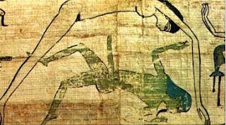 "Geb & Nut: ""Papyris of Tamenill,"" ca. 1000 B.C.E"