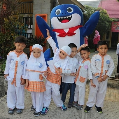 Murid, Baby Shark, Sekolah TK
