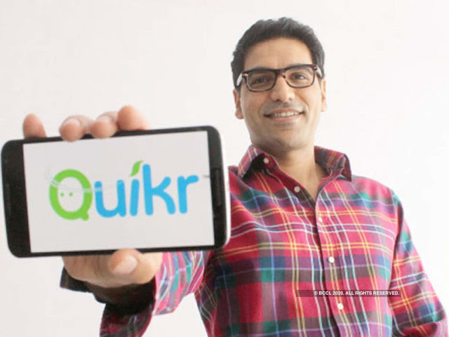 Indian Startup Success Stories quickr