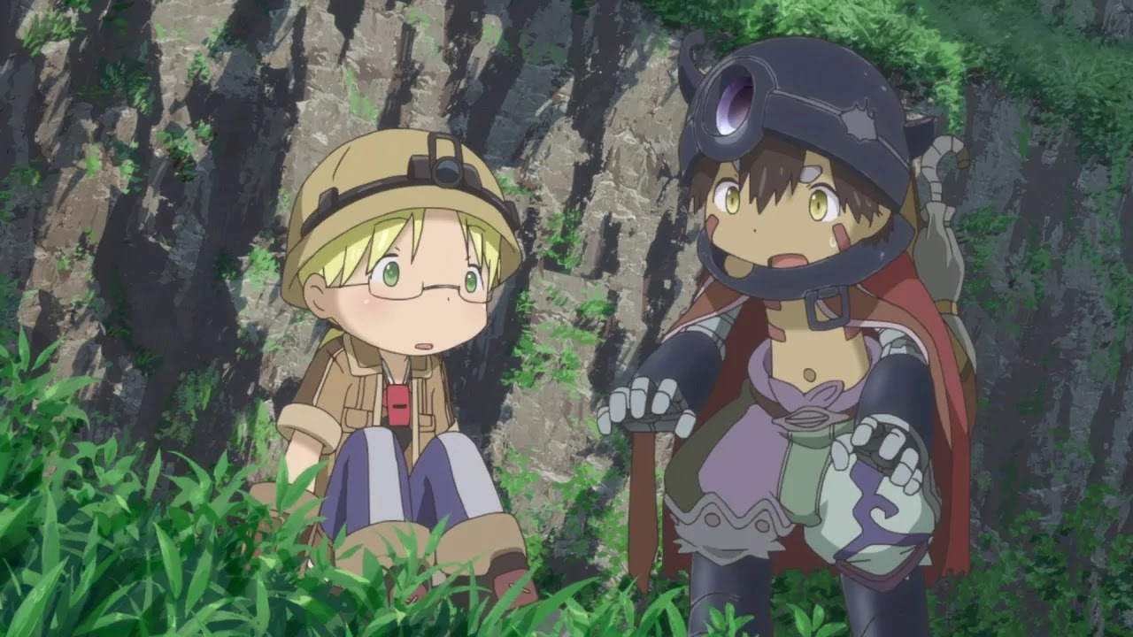 Screen z anime Made in Abyss