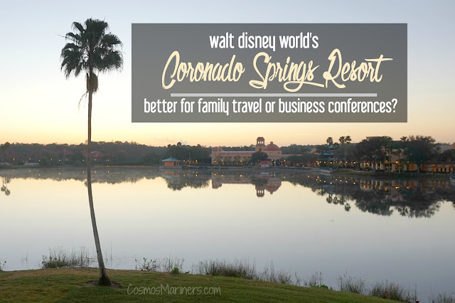 Coronado Springs Resort at Walt Disney World: Better for Family Travel or Business Conferences?