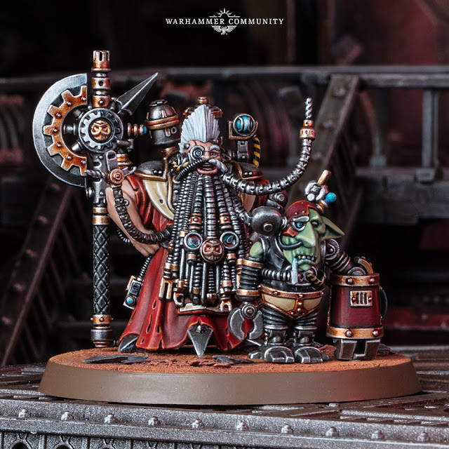 Tech Priest Grombrindal
