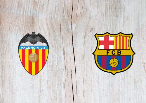 Valencia vs Barcelona -Highlights 25 January 2020