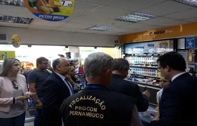 Procon-PE multa a empresa Mega Postos em R$ 1 milhão