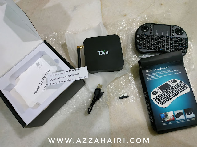 android box azzahairi