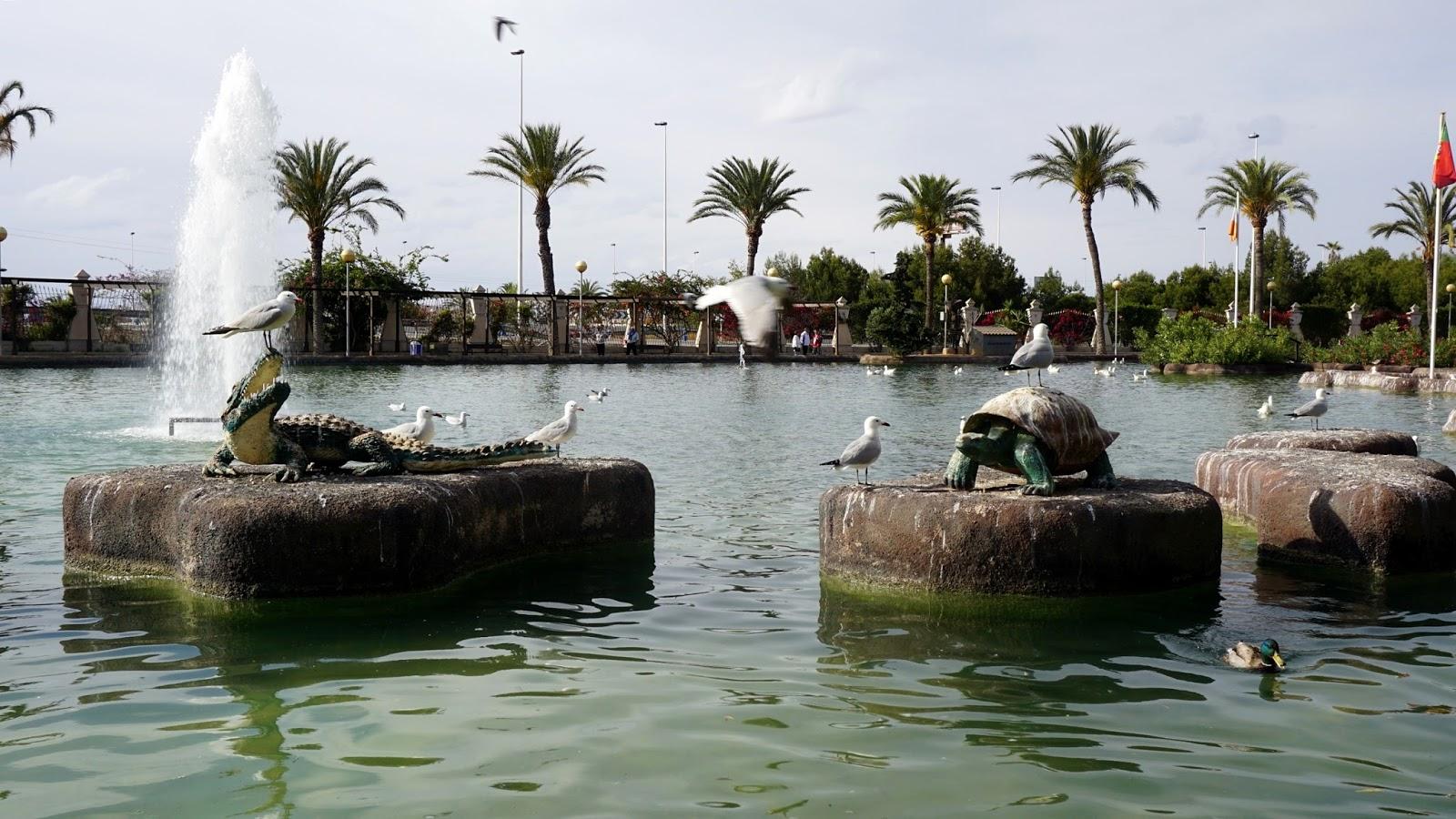 Parque de Las Naciones w Torrevieja, atrakcje Torrevieja, atrakcje południowej Hiszpanii
