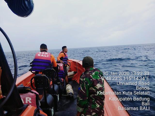 Nelayan Pencari Gurita Hilang Di Perairan Nusa Dua
