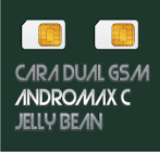 Cara Dual Gsm  Pada Andromax C AD686G Jelly Bean Tanpa PC