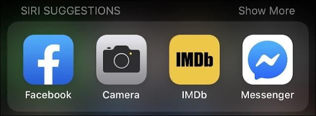 Siri Suggestion