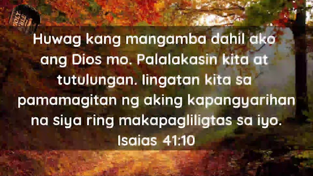 Give Thanks ToThe Holy One Tagalog Bible Verse About Healing