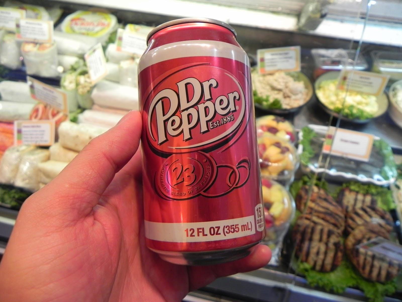 Nova York refrigerante dr. pepper