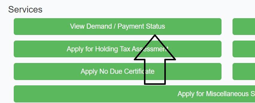 odisha property tax payment status