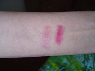L'Occitane's Pivoine Sublime Lip Balms swatches.jpeg