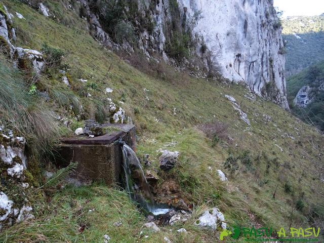 Fuente en el Barranco del Rubó