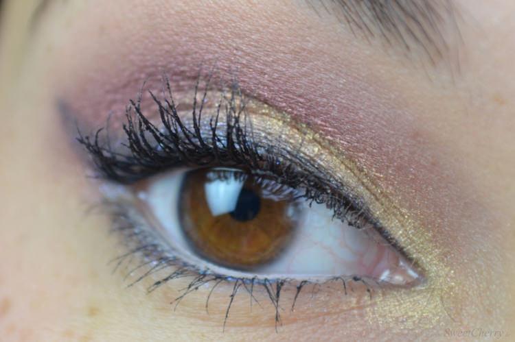 Augenmakeup mit Kiko Produkten im Rahmen einer Schminkblogparade