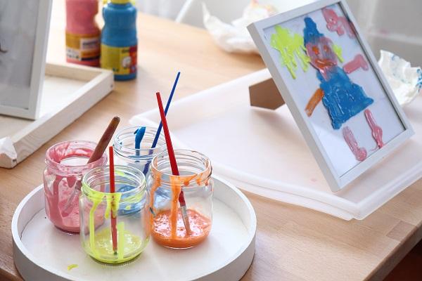 recette peinture pour vitres pour enfants
