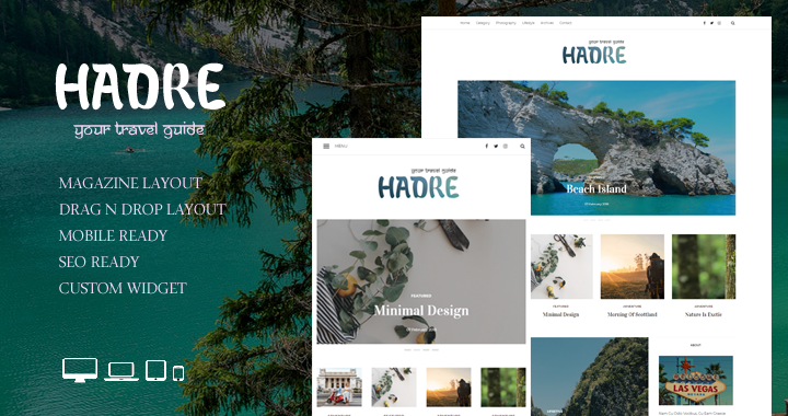 Hadre – A Travel Magazine