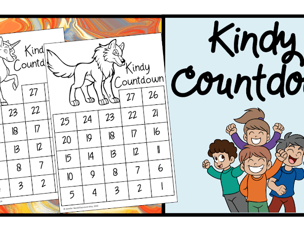 Countdown to the Last Day of Kindergarten!
