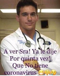 Pandemic Spanish Meme Cuarentena ER doctor