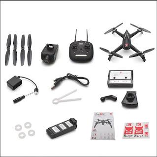 Drone MJX Bugs 5W B5W GPS Wifi Camera Gimbal FHD 1080p Brushless Motor