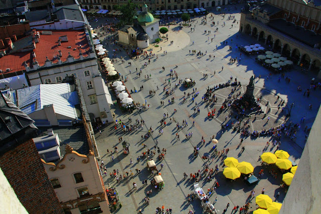 Vista aerea de Plaza Mercado