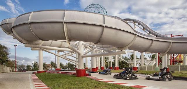 Atração Grandprix no Parque Ventura Park em Cancún