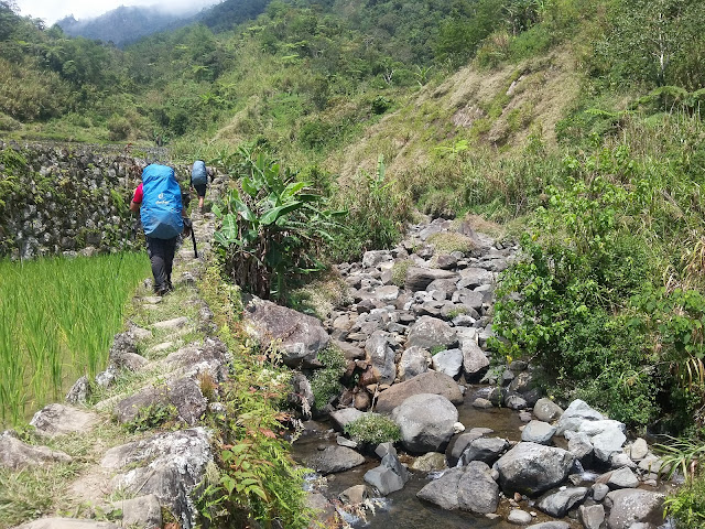 Resume Trek going to Mt. Amuyao Summit
