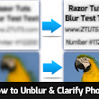 How to Unblur & Clarify a Picture - Tips Tricks and Tutorials by Razor