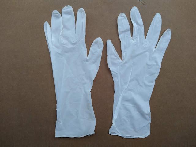 Găng tay cao su y tế nitrile 12'