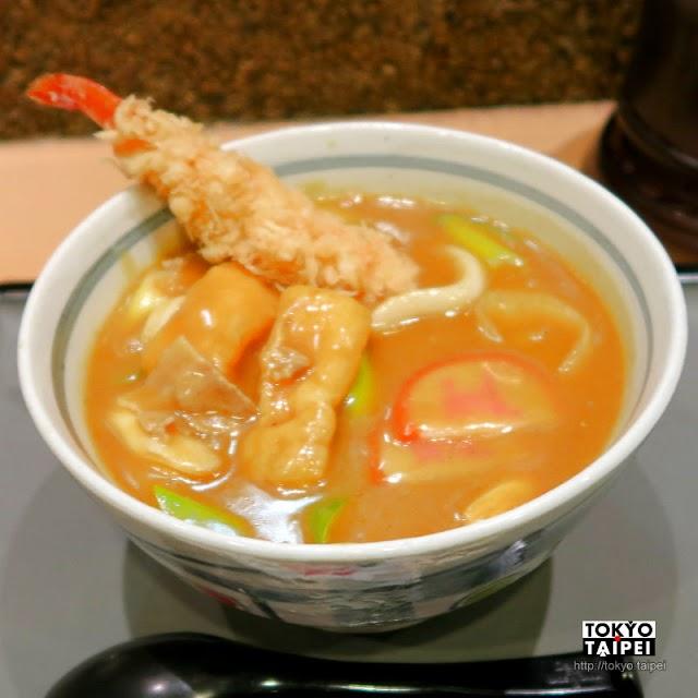 【若鯱家】名古屋名物咖哩烏龍麵 加上炸蝦更好吃