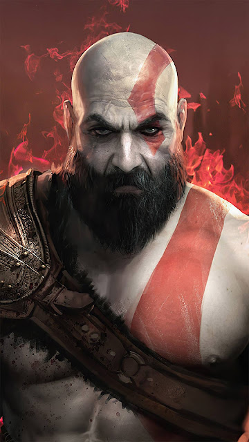 God Of War iphone wallpaper for iphone