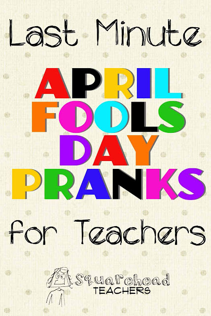 April Fools Day Prank On Teacher