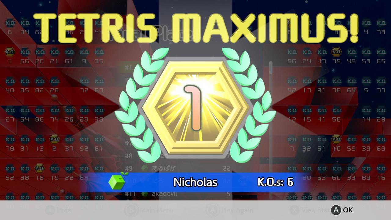 Nintendo Switch Reviews: Tetris 99