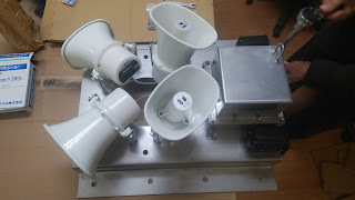 オジロワシ 風車 風力発電から守る保護機器(ガモラ)の注文が入る