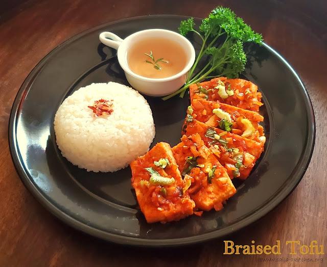 images of Braised Tofu Recipe / Spicy Braised Tofu / Dubu Jorim
