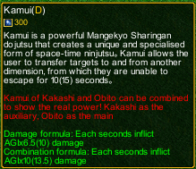 naruto castle defense 6.0 Divinity detail