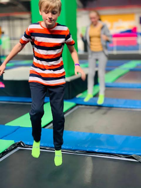 trampoline park Jump In Elstree