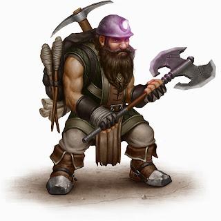 Dwarf miner
