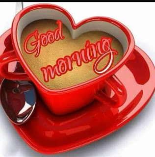 good morning heart cup