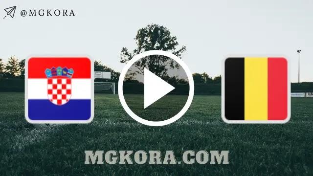 مشاهدة مباراة منتخب بلجيكا ضد منتخب كرواتيا بث مباشر اليوم في مباراة دولية ودية
