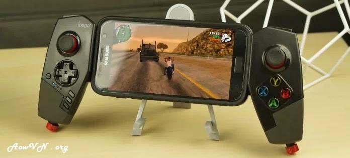 AowVN Gamepad%2B%25281%2529 - Tổng hợp những tay cầm chơi game nên mua cho điện thoại | Gamepad Android & IOS