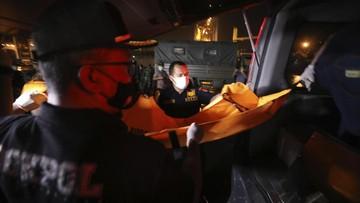 Satu Kantong Jenazah Sriwijaya Air Dibawa ke RS Kramat Jati