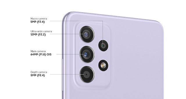 Samsung Galaxy A52 камера