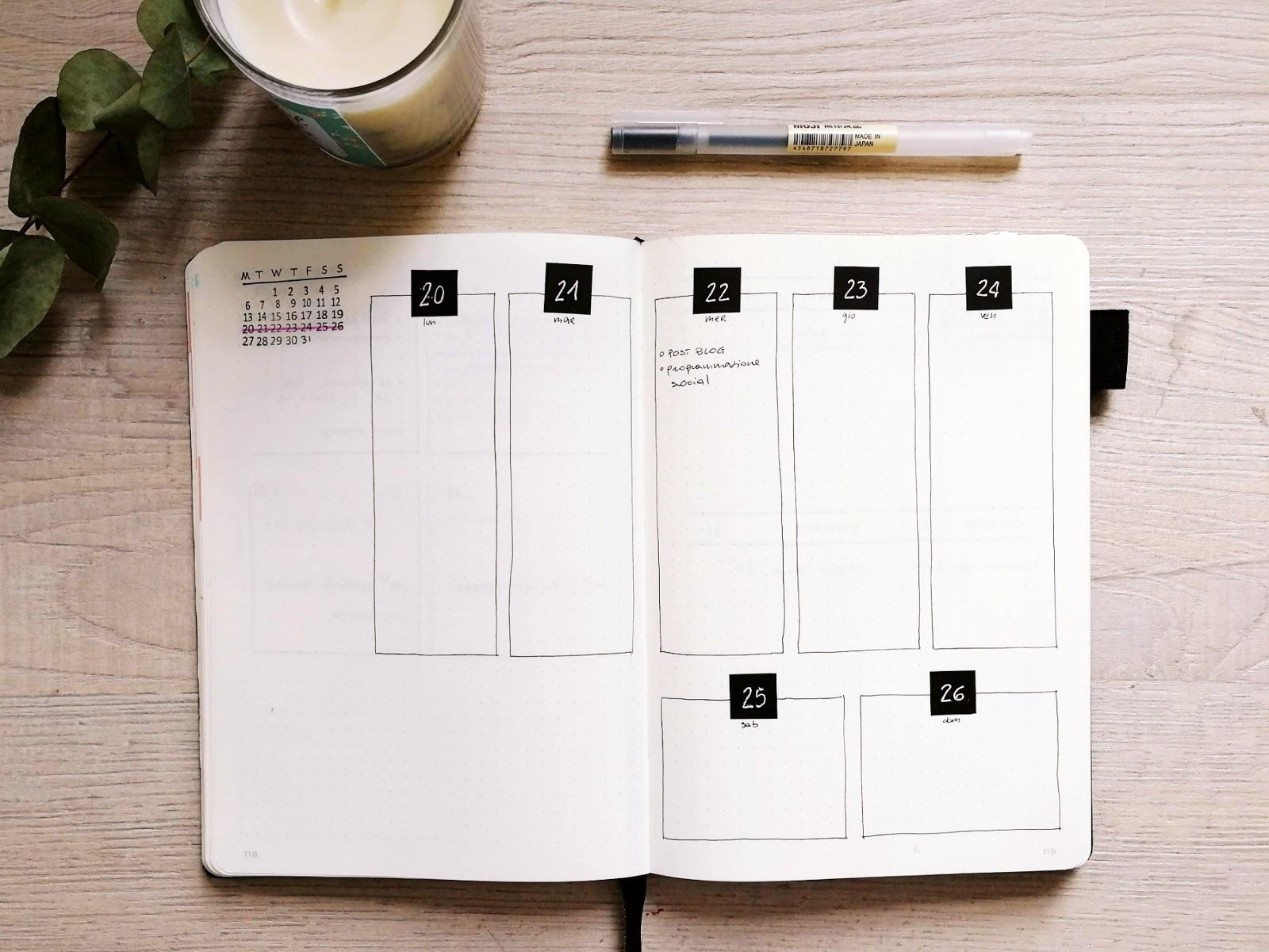 come-organizzare-il-mese-con-il-bullet-weeklylog