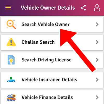 Search Vehicle Owner