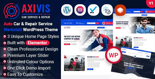 Best Car Services and Repair WordPress Theme