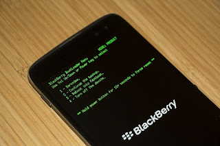 Cara Flashing Blackberry DTEK60