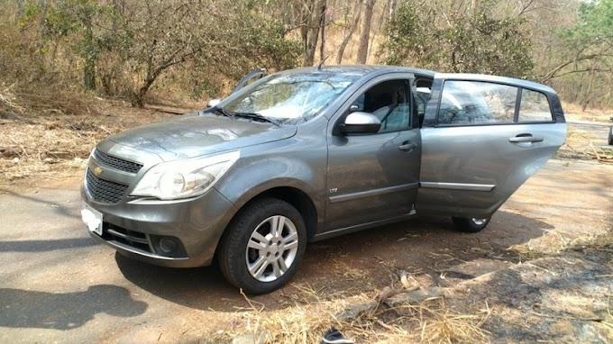 Criminosos roubam carro com R$ 8.350 em Ipatinga; veículo e dinheiro foram recuperados